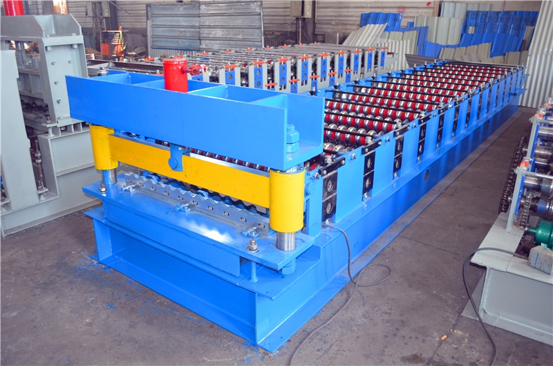 850  corrugated roofing  roll forming machine