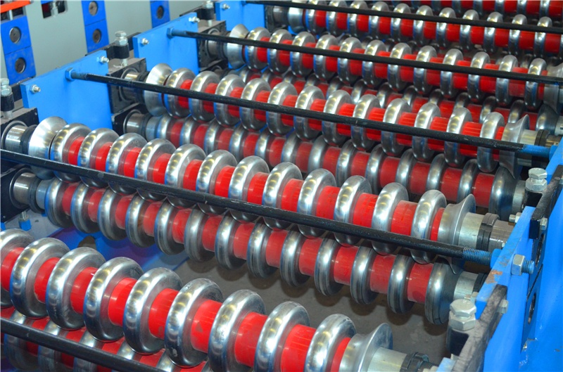 Africa type corrugated roof tile roll forming machine