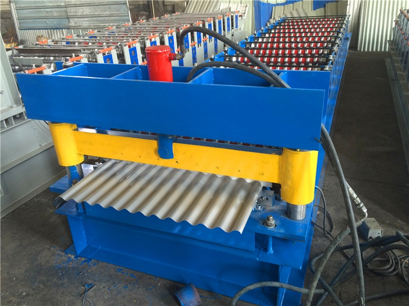 Corrugated Metal Sheet Roll Forming Machinery