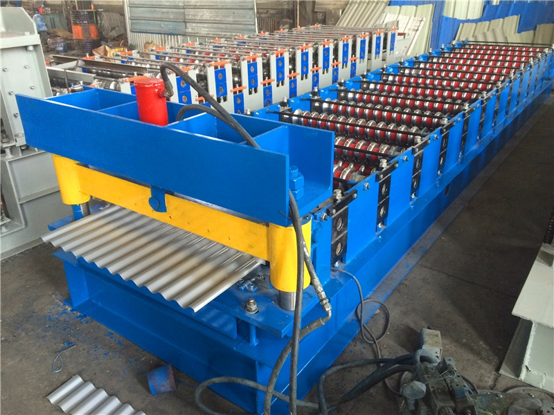 Corrugated Roof Tile Roll Forming Machines