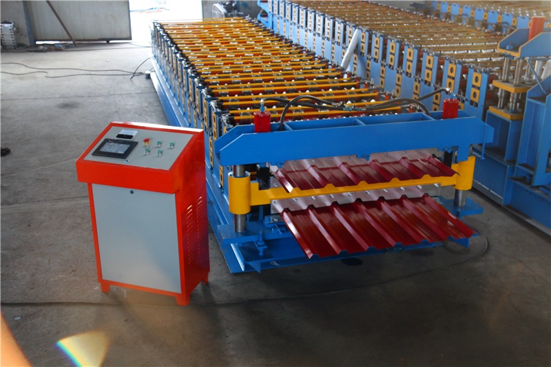 JCX 1000/1125 Double Layers Roll Forming Machine