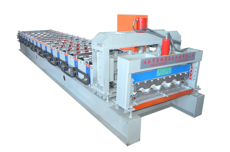 JCX  steel step  tile roll forming machine
