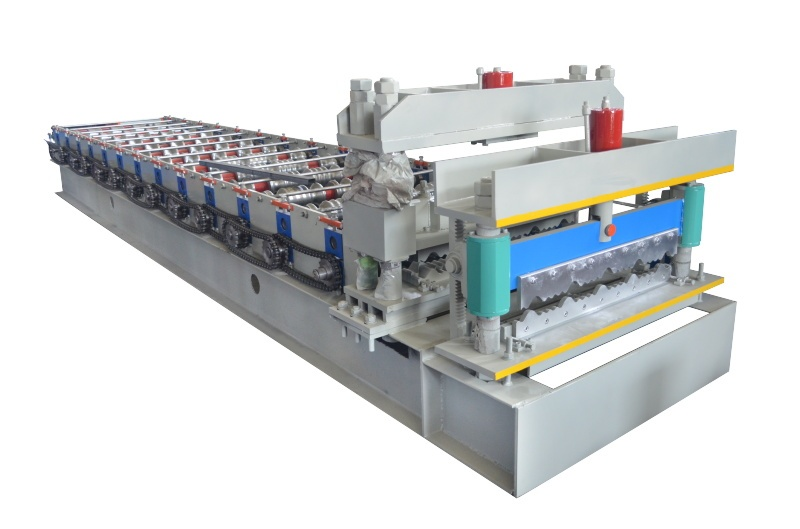Step tile rolling mill