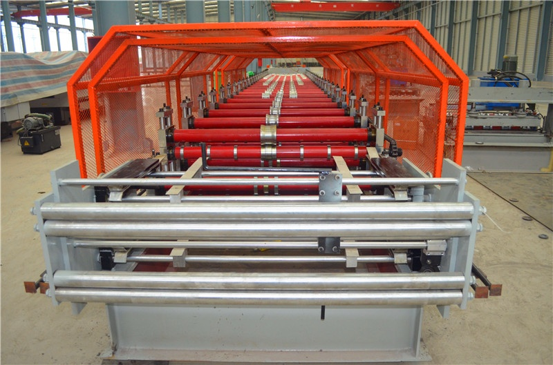 Metal Panel  Double Layers Roll Forming Machine