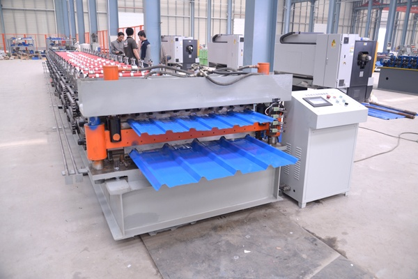 JCX 30-250-1000 /JCX 18-165-1000 Double Layer Roof Sheets Roll Forming Machine