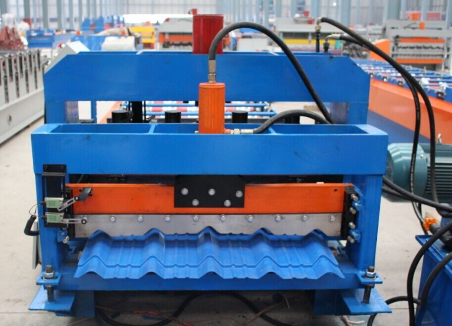 1000 Step  tile roll forming machinery