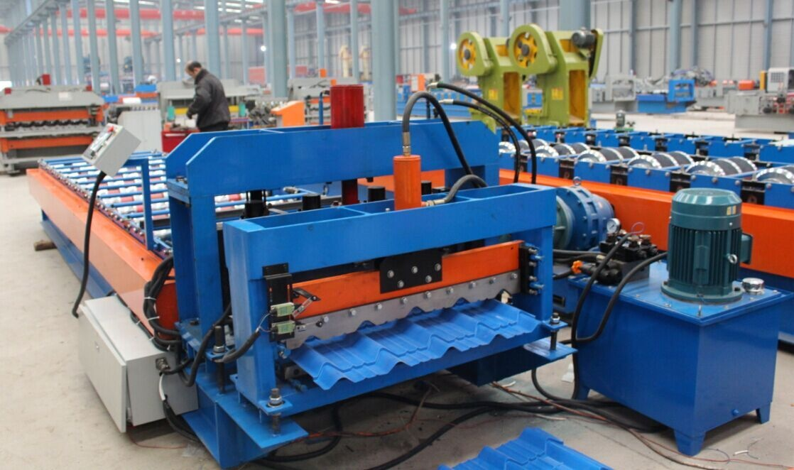 tile roll forming machinery